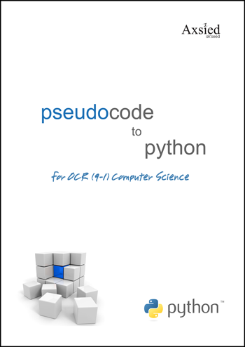 OCR Pseudocode to Python
